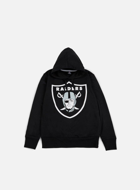Majestic - Bater Loopback OTH Hoody Oakland Raiders Black - MOR-2689-DB Sweatshirts Hoodie