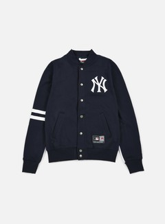 Majestic - Emodin Fleece Letterman NY Yankees, Navy 1