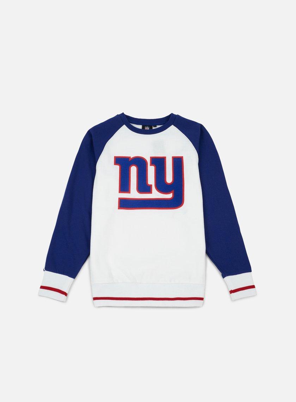 Majestic Fleece Raglan Crewneck NY Giants
