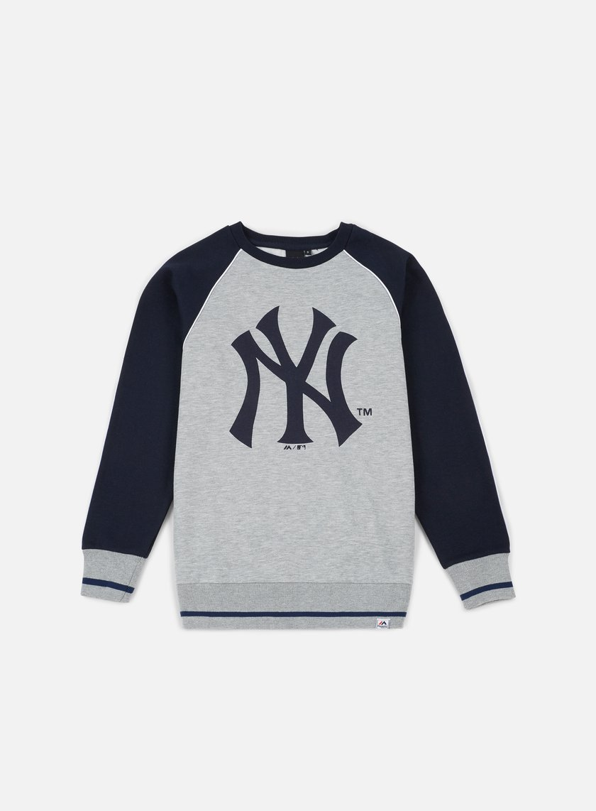 Majestic Fleece Raglan Crewneck NY Yankees