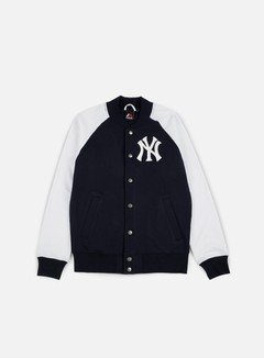 Majestic - Gadwell Fleece Letterman Jacket NY Yankees, Navy 1