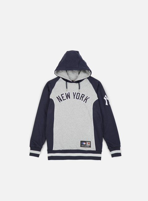 Outlet e Saldi Felpe con Cappuccio Majestic Handly Oth Fashion Hoody NY Yankees