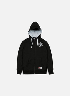 Majestic - Leptic Full Zip Hoody Oakland Raiders, Black 1