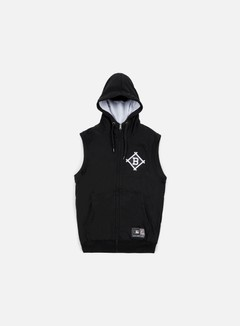 Majestic - Manial Sleeveless Hoody Brooklyn Dodgers, Black 1