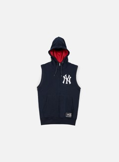 Majestic - Manial Sleeveless Hoody NY Yankees, Navy 1
