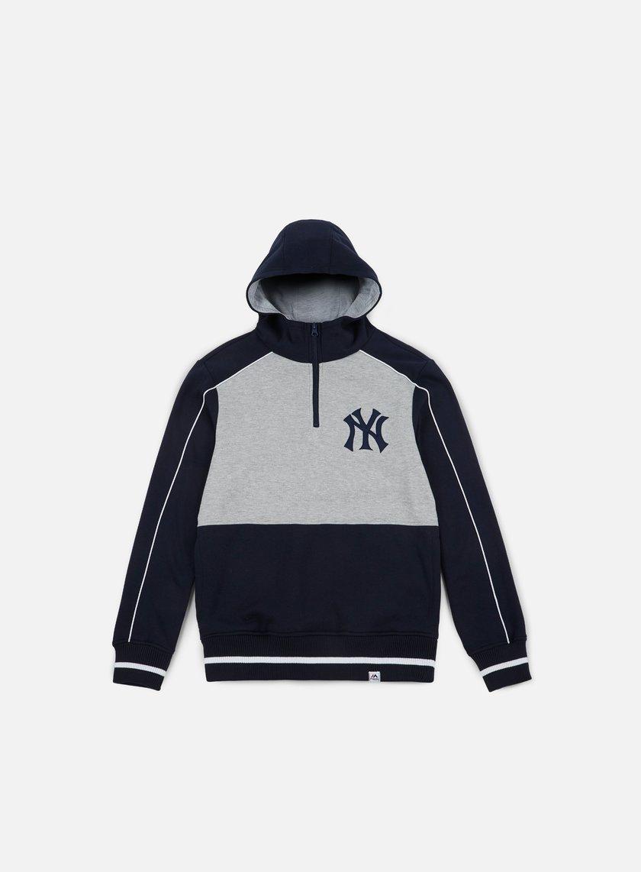 Majestic Quarter Zip Oth Hoody NY Yankees