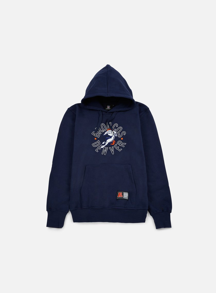 Majestic - Tamer Oth Graphic Hoody Denver Broncos, Navy