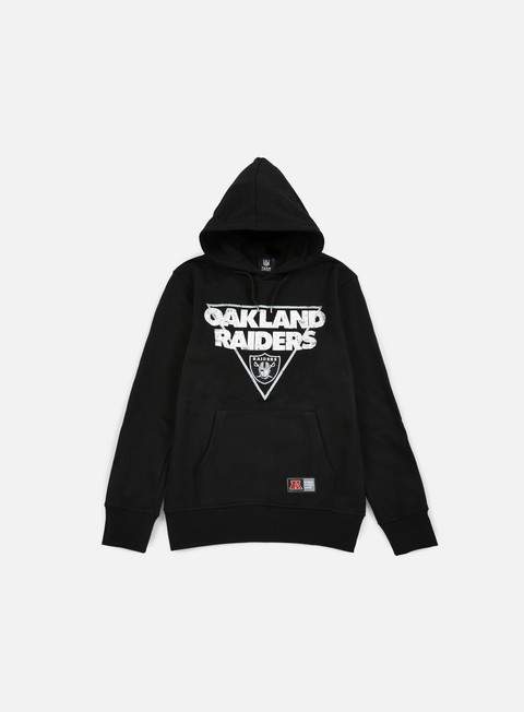 felpe majestic tamer oth graphic hoody oakland raiders black