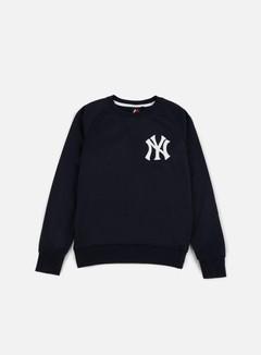 Majestic - Terren Loopback Crewneck NY Yankees, Navy 1