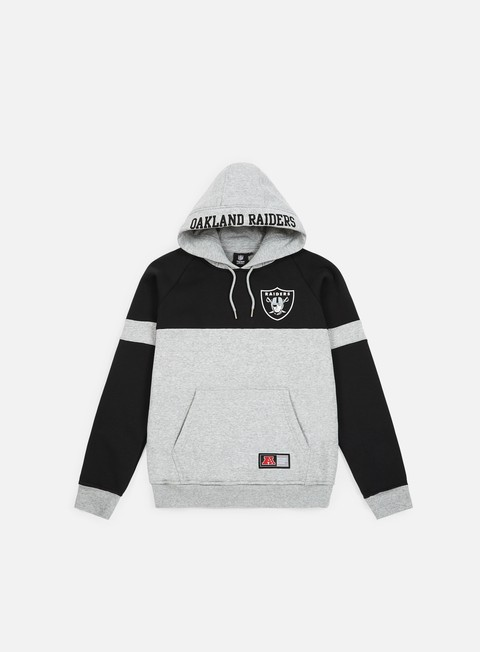 Outlet e Saldi Felpe con Cappuccio Majestic Wells Fashion Hoody Oakland Raiders