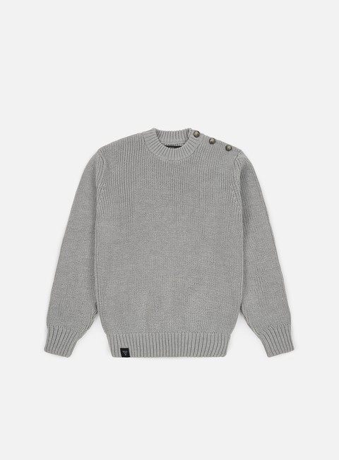 felpe makia admiral knit light grey