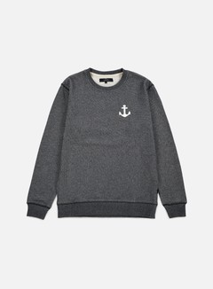 Makia - Anchor Sweatshirt, Grey 1