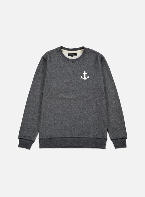 felpe makia anchor sweatshirt grey