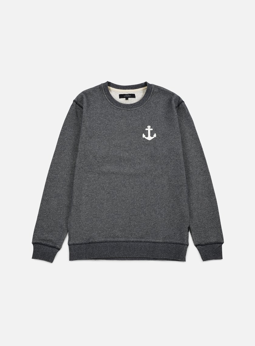 Makia - Anchor Sweatshirt, Grey