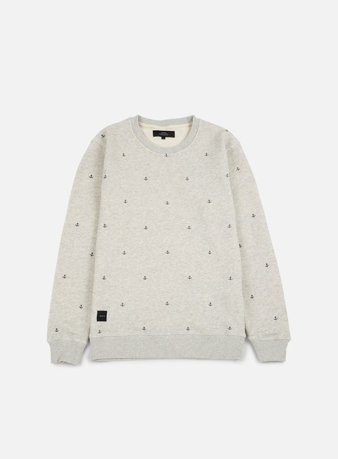felpe makia anchors sweatshirt grey