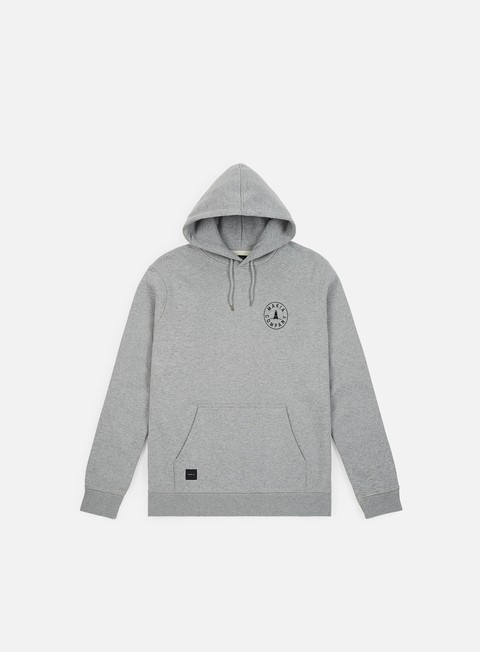 felpe makia astern hooded sweatshirt grey