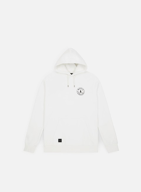 felpe makia astern hooded sweatshirt white