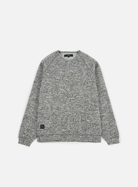 felpe makia chalk sweatshirt black white