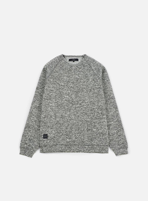 Makia - Chalk Sweatshirt, Black/White