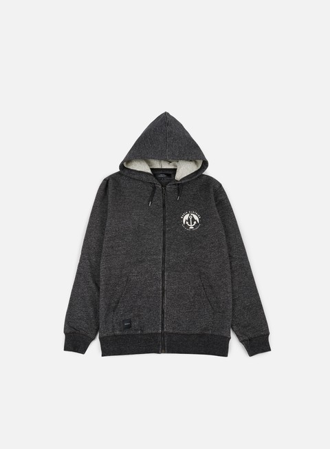 felpe makia harbour hooded sweatshirt dark grey