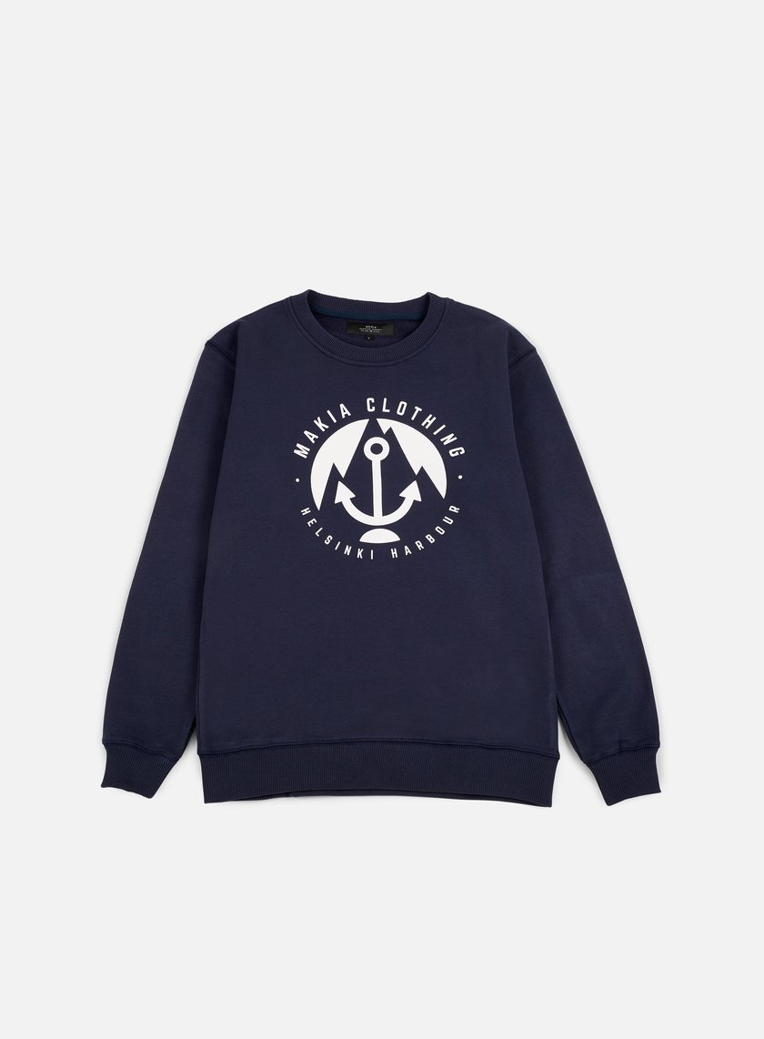 Makia - Harbour Sweatshirt, Navy