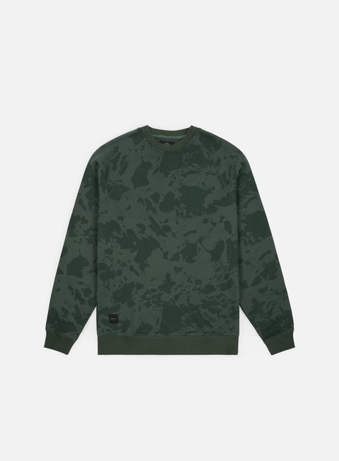 felpe makia island camo sweatshirt green