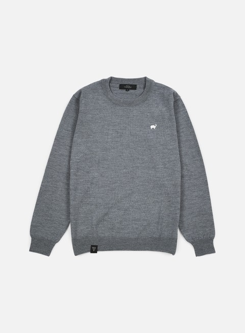 felpe makia merino knit grey