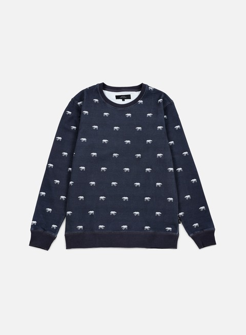 felpe makia polar sweatshirt blue