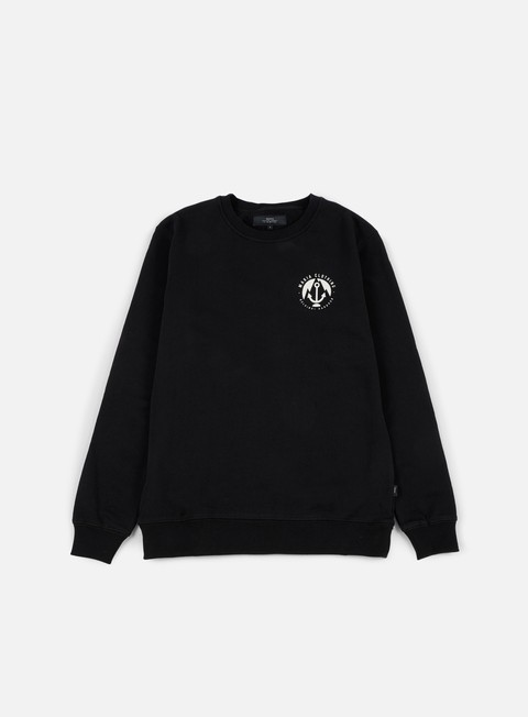 felpe makia port sweatshirt black