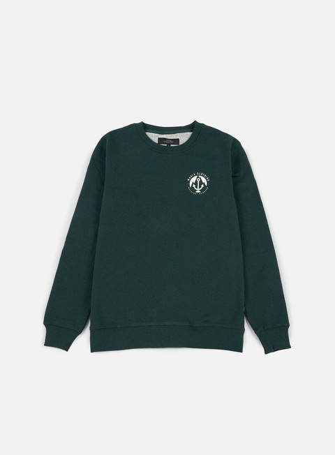felpe makia port sweatshirt green