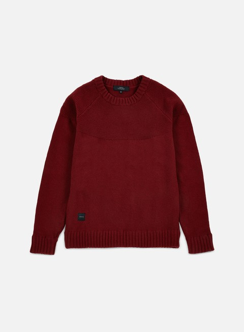 felpe makia raglan knit burgundy