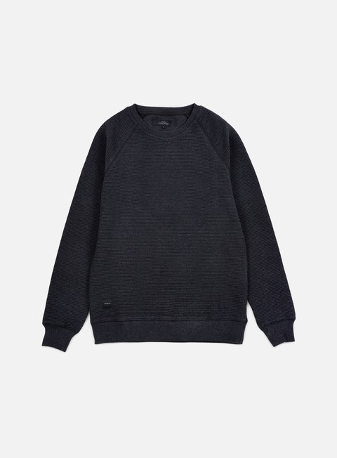 felpe makia raglan sweatshirt dark grey