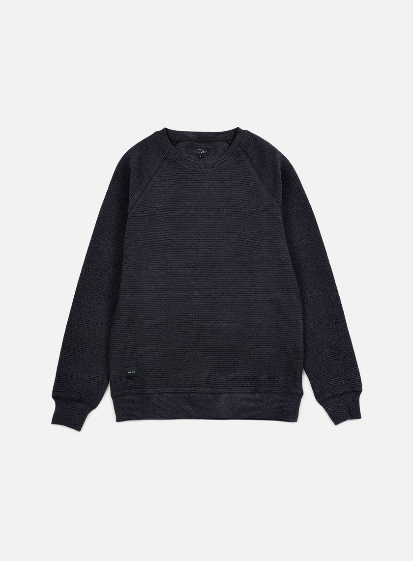 Makia - Raglan Sweatshirt, Dark Grey