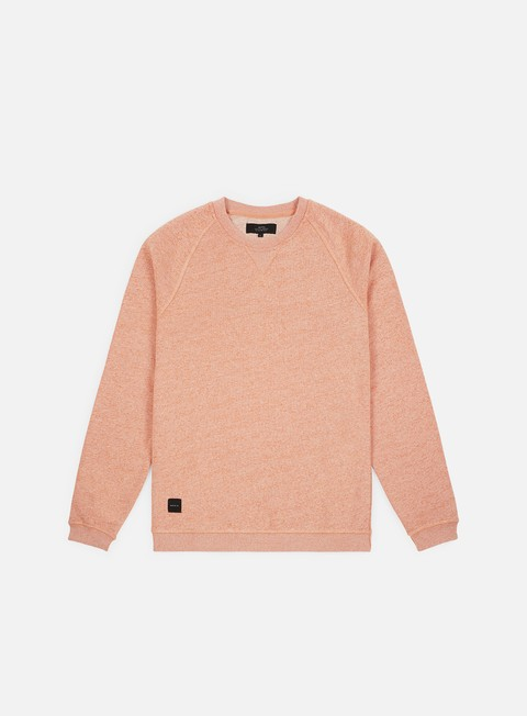 felpe makia raglan sweatshirt orange