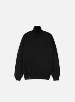 Makia - Roll Neck Knit, Black 1