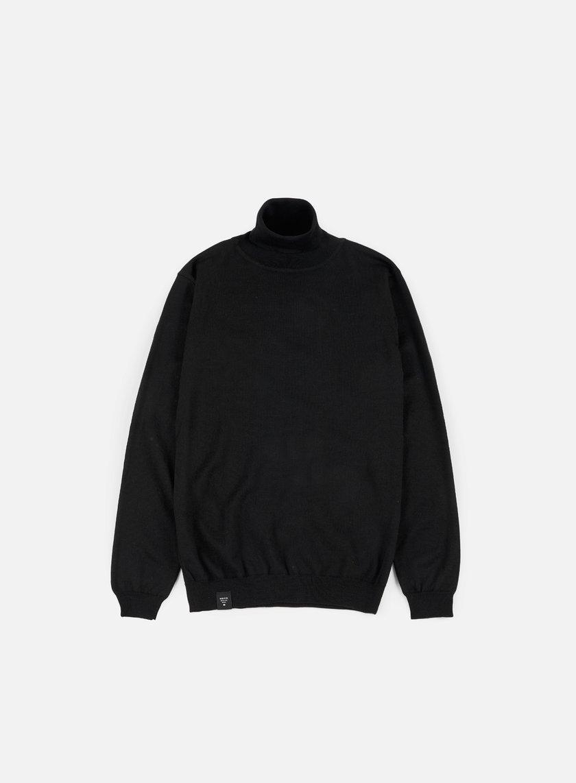 Makia - Roll Neck Knit, Black