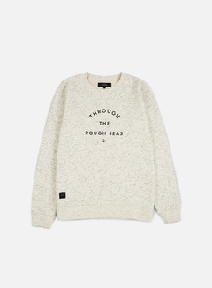 Makia - Rough Seas Sweatshirt, Ecru 1