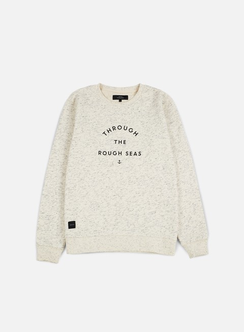 felpe makia rough seas sweatshirt ecru