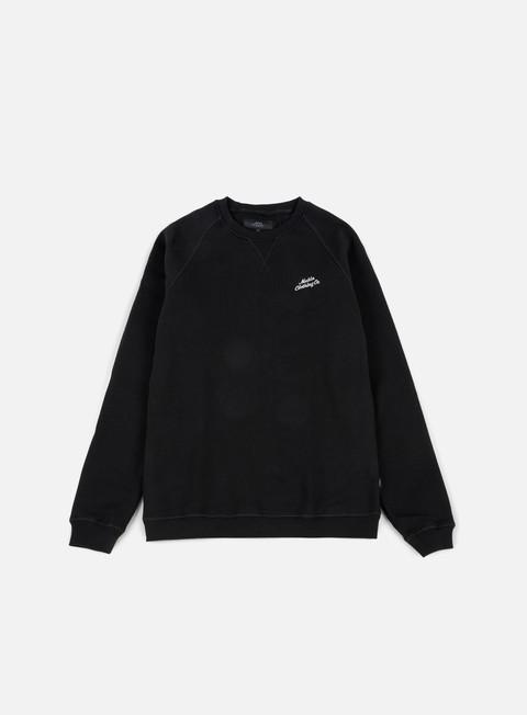 felpe makia script sweatshirt black