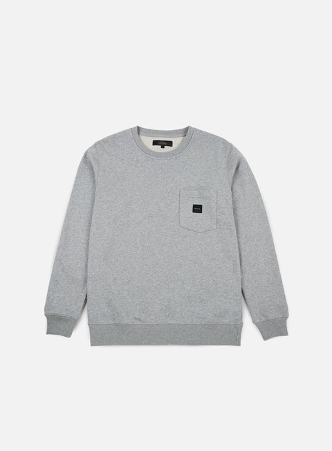 felpe makia square pocket sweatshirt grey