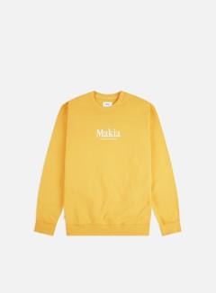 Makia - Strait Crewneck, Yellow