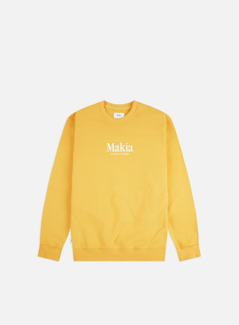 Sale Outlet Crewneck Sweatshirts Makia Strait Crewneck