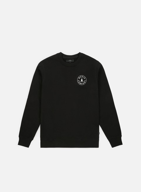 felpe makia trade sweatshirt black