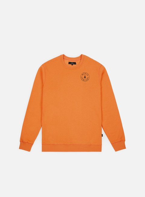 felpe makia trade sweatshirt orange