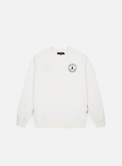 felpe makia trade sweatshirt white