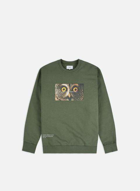 Sale Outlet Crewneck Sweatshirts Makia Von Wright Stare Crewneck