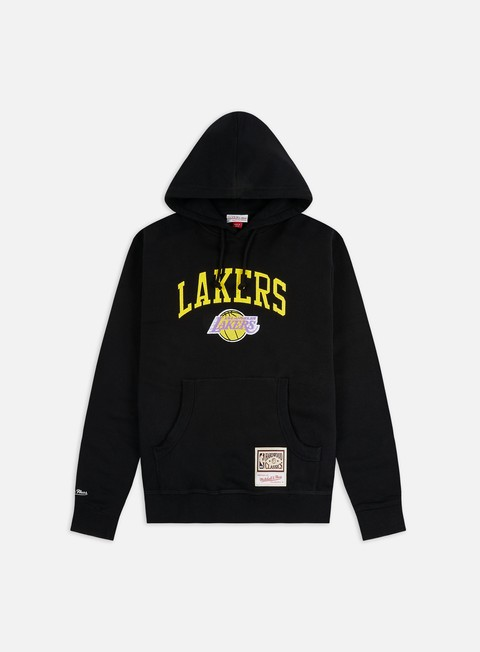 Hooded Sweatshirts Mitchell & Ness Arch Hoodie LA Lakers