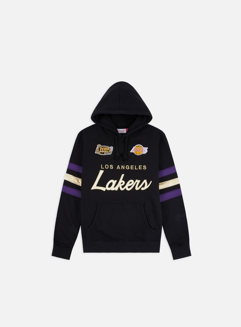 Felpe con Cappuccio Mitchell & Ness Championship Game Hoodie Los Angeles Lakers