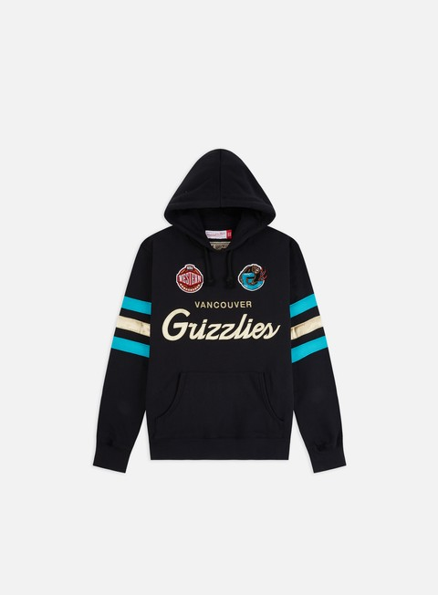 Hooded Sweatshirts Mitchell & Ness Championship Game Hoodie Vancouver Grizzlies