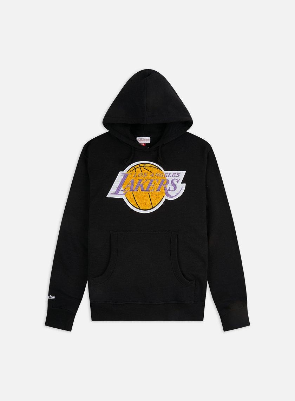 Mitchell & Ness Chenille Logo Hoodie LA Lakers
